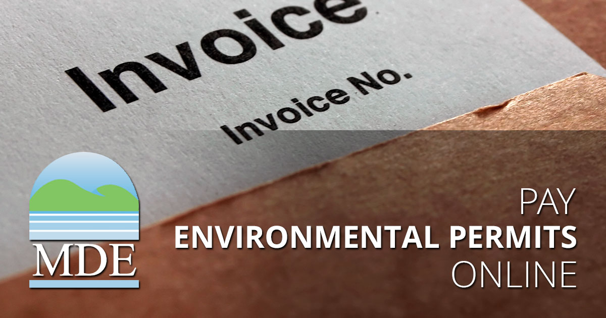Pay Environmental Permits Online