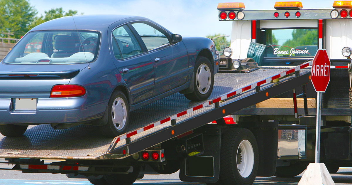 New online service assists maryland towing companies with for Motor vehicle service notification