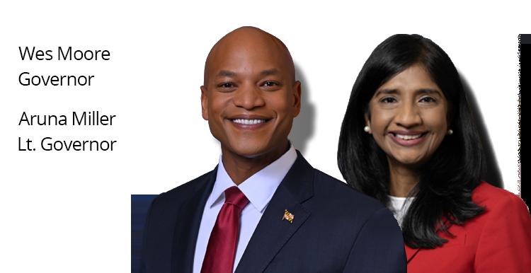 Maryland Governor and Lieutenant Governor